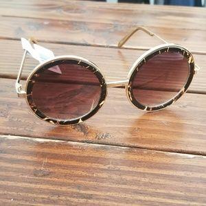 Perverse Round Sunglasses NWT